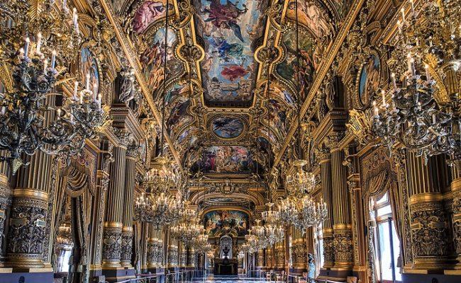 Ballroom in Opera house, Paris