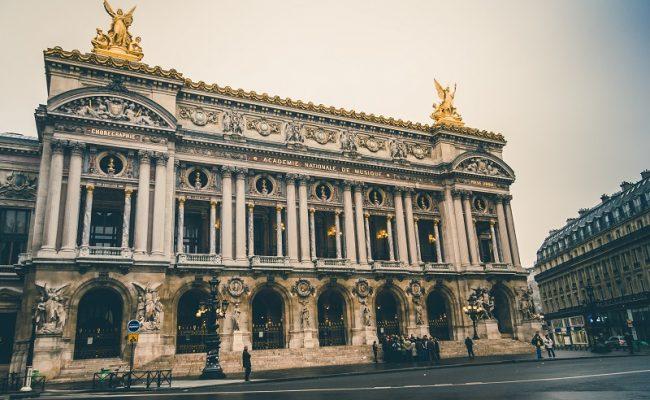 Grand Foyer in Palais Garnier, Paris